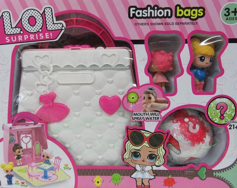 игрушка Lol кукла с сумочкой Lol 09 пластик 10шт